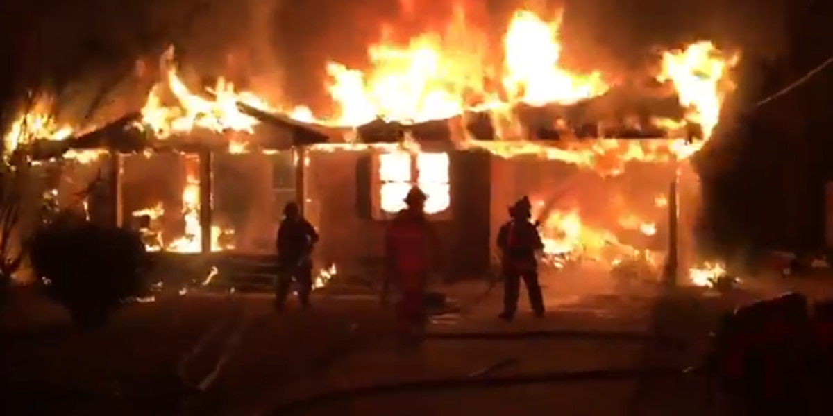 Fairfield County house engulfed in flames when no one home