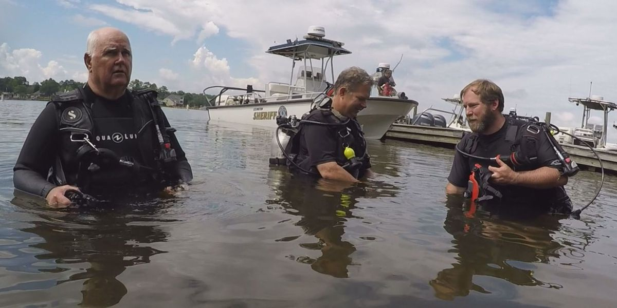 Searching the murky waters of Lake Murray: an exclusive look at LCSD's dive team training