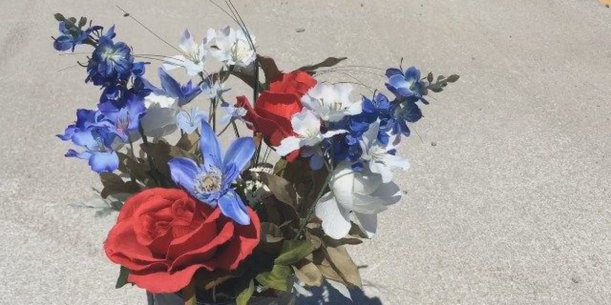 Mystery on Mineral Springs Rd has drivers puzzled by shoe memorial