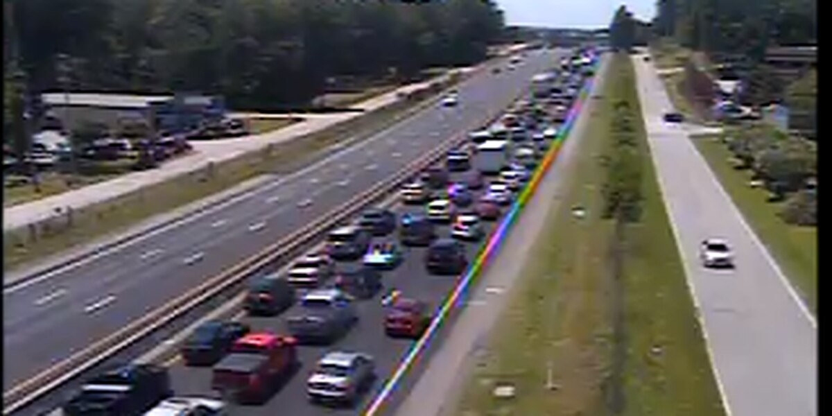 UPDATE: Jumper from I-26 overpass snarled traffic; condition of person unknown