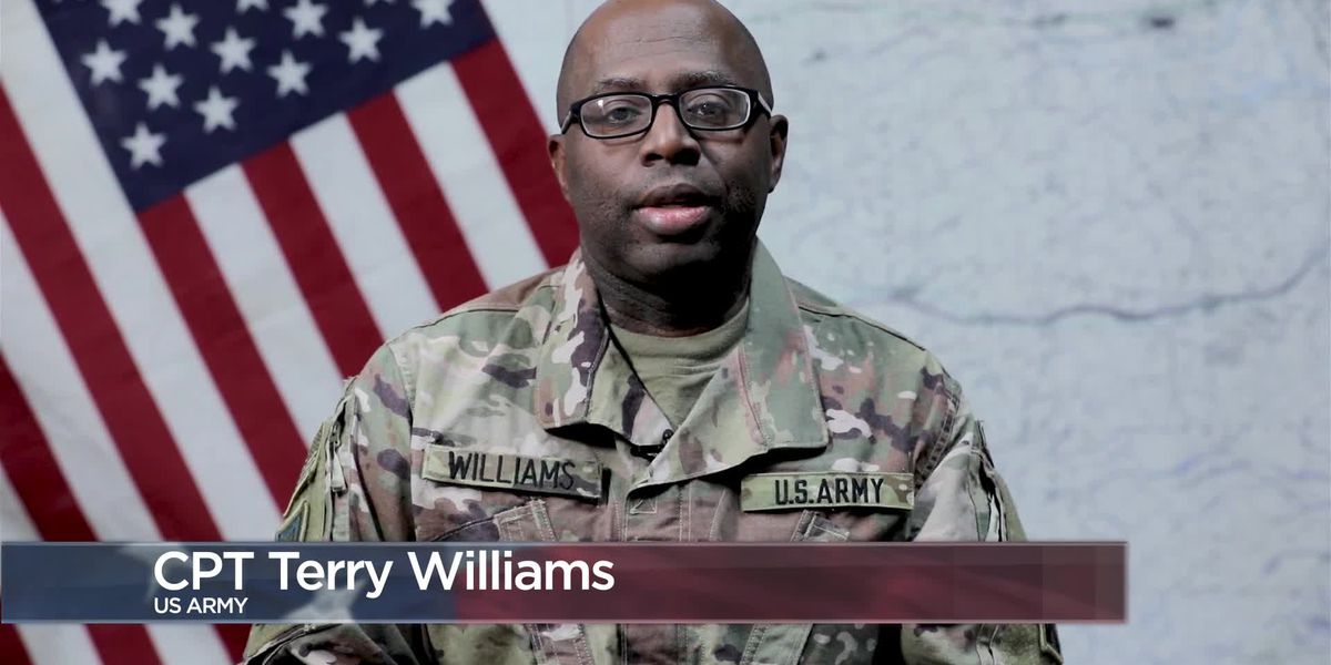 Military Greetings - Capt. Terry Williams