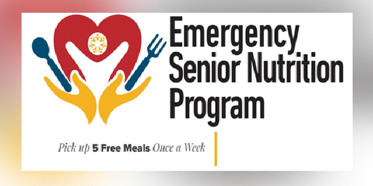 Emergency Senior Nutrition Program releases schedule for next week