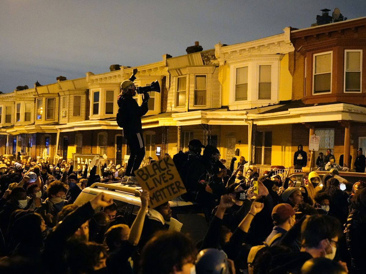 GRAPHIC: Heightened unrest in Philadelphia after Black man's killing