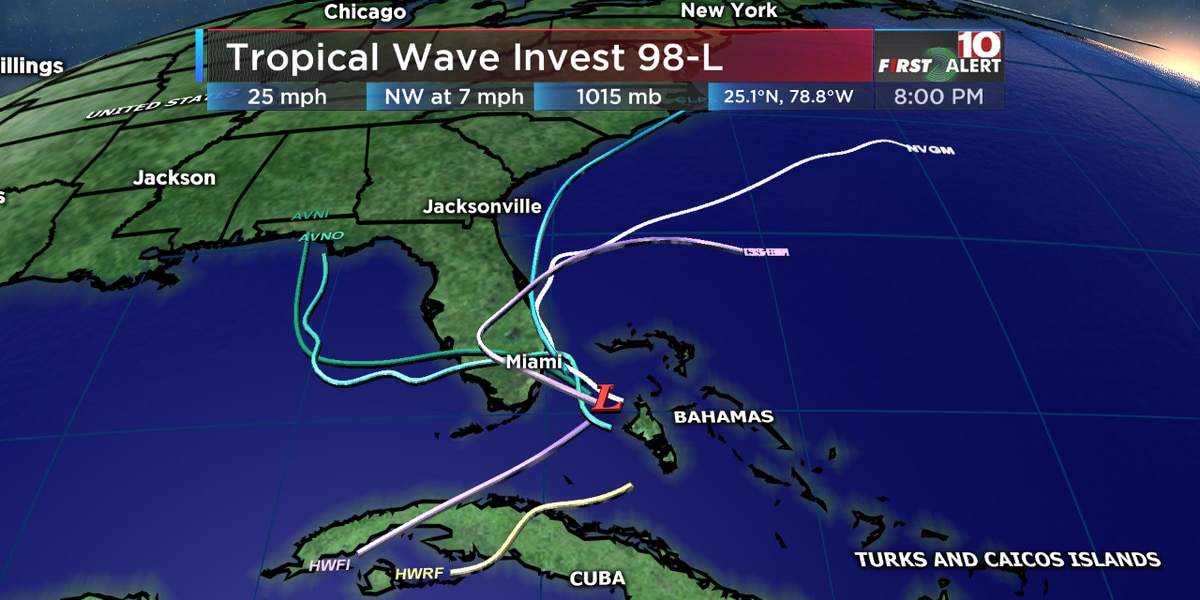 Tropical Depression 5 develops in the Atlantic Ocean | 10Weather WTSP