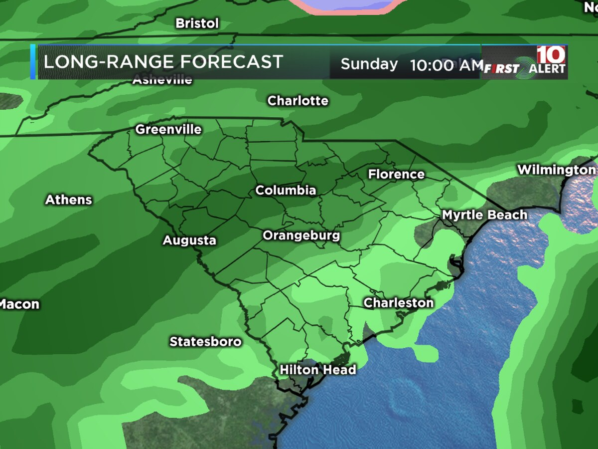 FIRST ALERT: Sunday is an Alert Day; a cold rain is expected in the Midlands