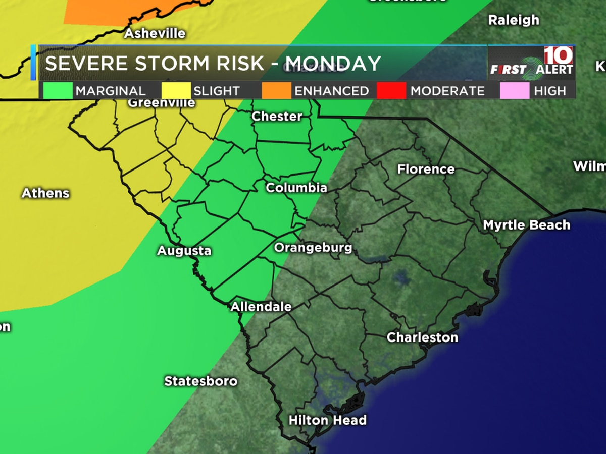 FIRST ALERT: Strong to severe storms possible tonight, plus more heat is on the way