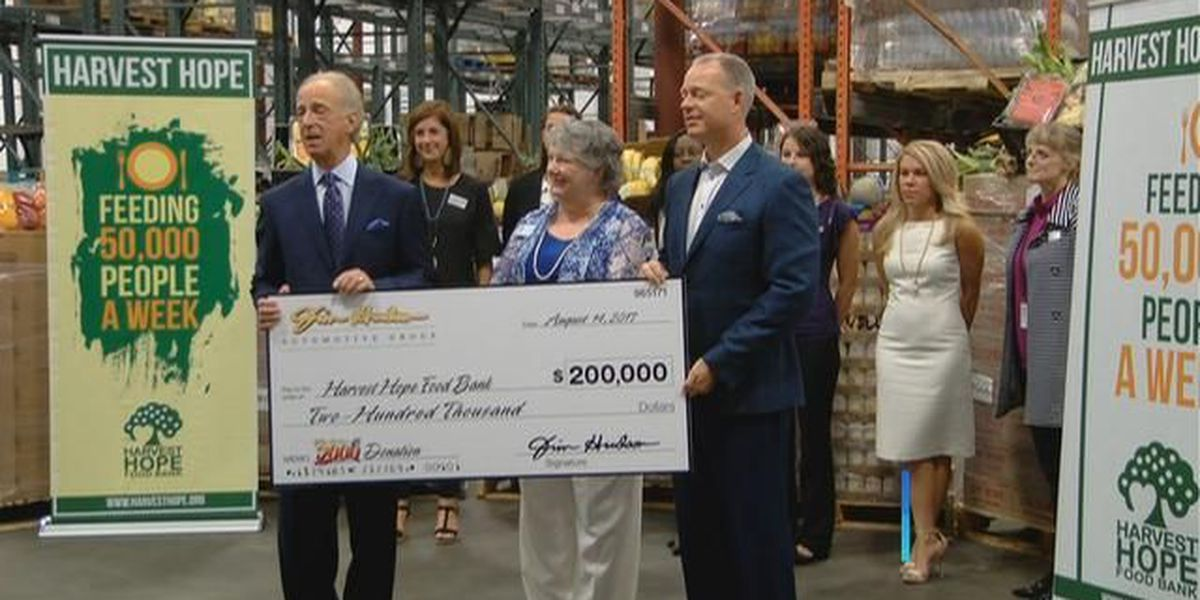 Hope Harvest gets $200K donation from Midlands automotive dealer