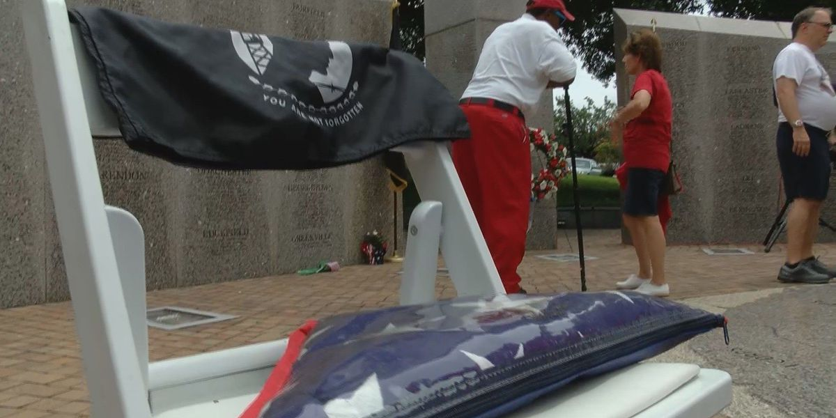 Vietnam veterans remembered at Memorial Day ceremony