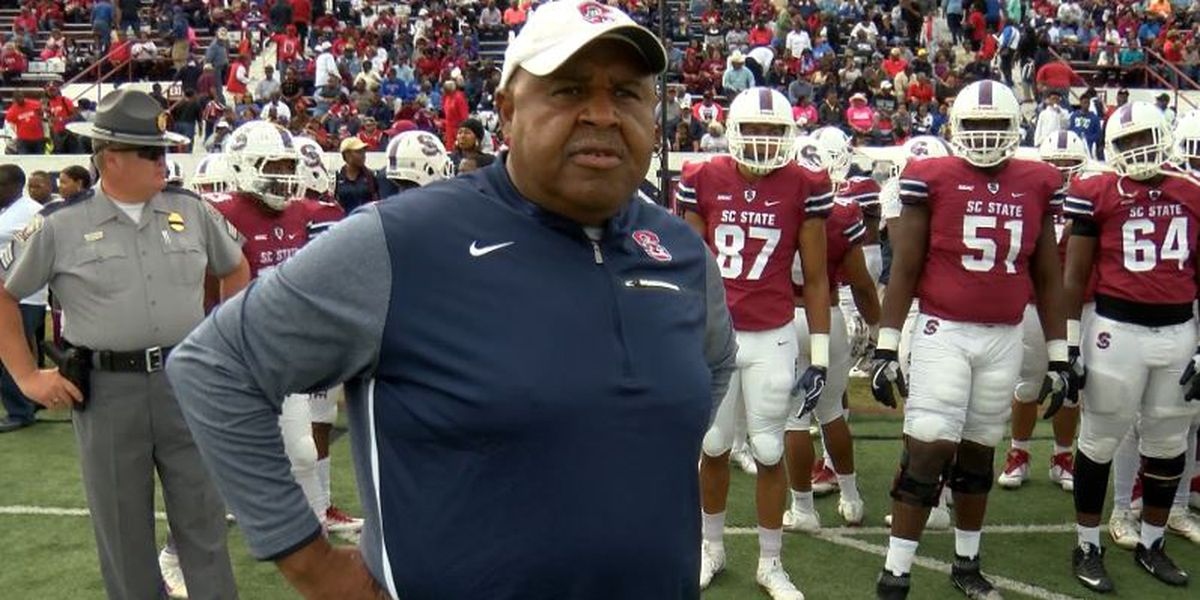 Pough gets one-year extension to coach SC State football