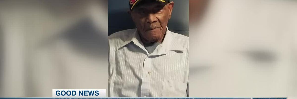 World War II veteran turns 100
