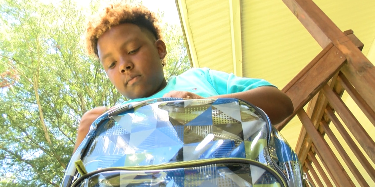 13-year-old boy saves money, donates over 300 backpacks to community