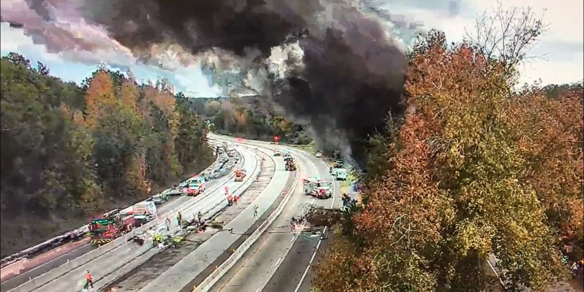 UPDATE: 1 dead in tractor-trailer crash on I-20 WB, SC Highway Patrol says; one lane remains closed
