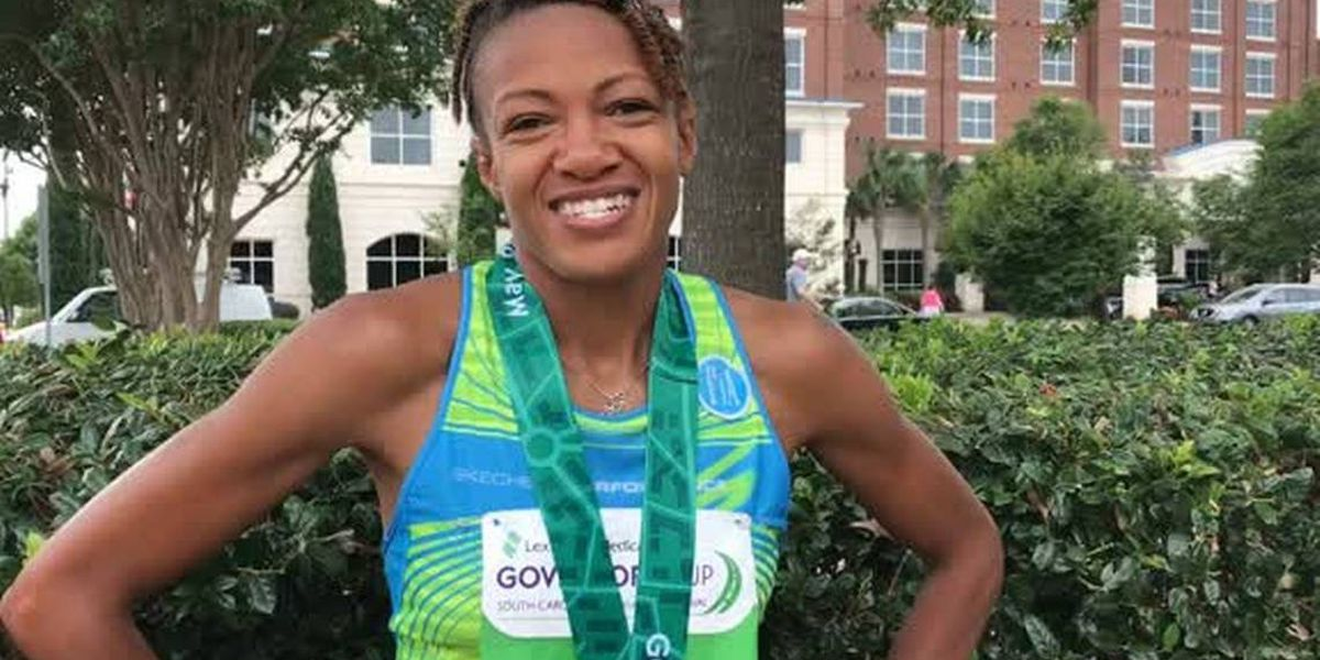 Columbia runner becomes first African American female to complete 15 marathons, each, in under three hours