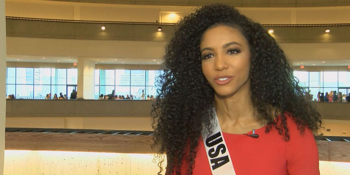 Former UofSC track star, Miss USA, places in Top 10 at Miss Universe