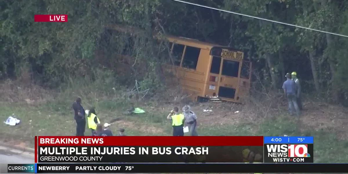 Multiple injuries reported in Upstate school bus crash, official says