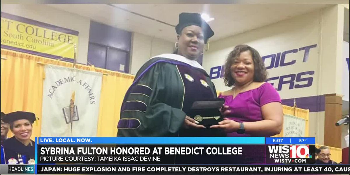 Mother of Trayvon Martin honored at Benedict College Saturday