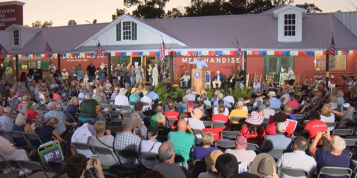 Democratic presidential candidates make their case to S.C. voters at Galivants Ferry Stump