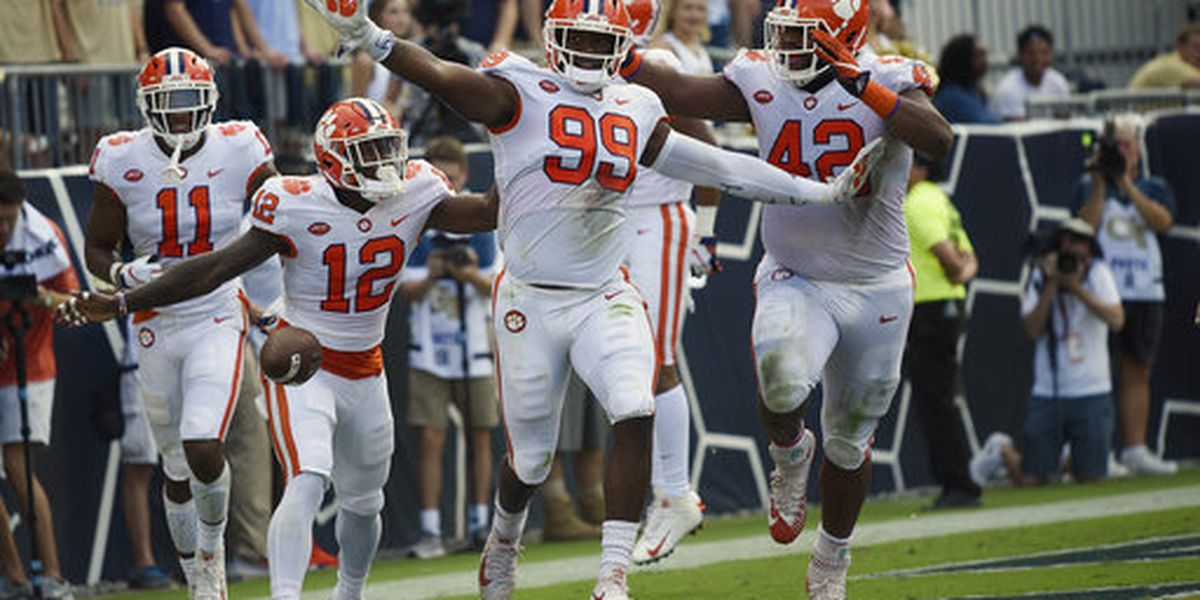 Clemson continues quest to win division with Saturday showdown vs. Syracuse
