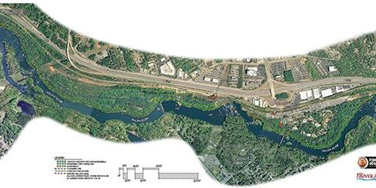Section of Three Rivers Greenway near Saluda River closer to being built