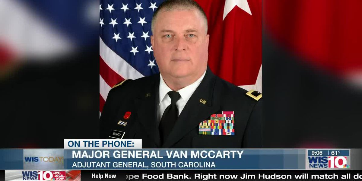 WIS TODAY: Major General Van McCarty discusses how the S.C. National Guard is helping in the COVID-19 fight