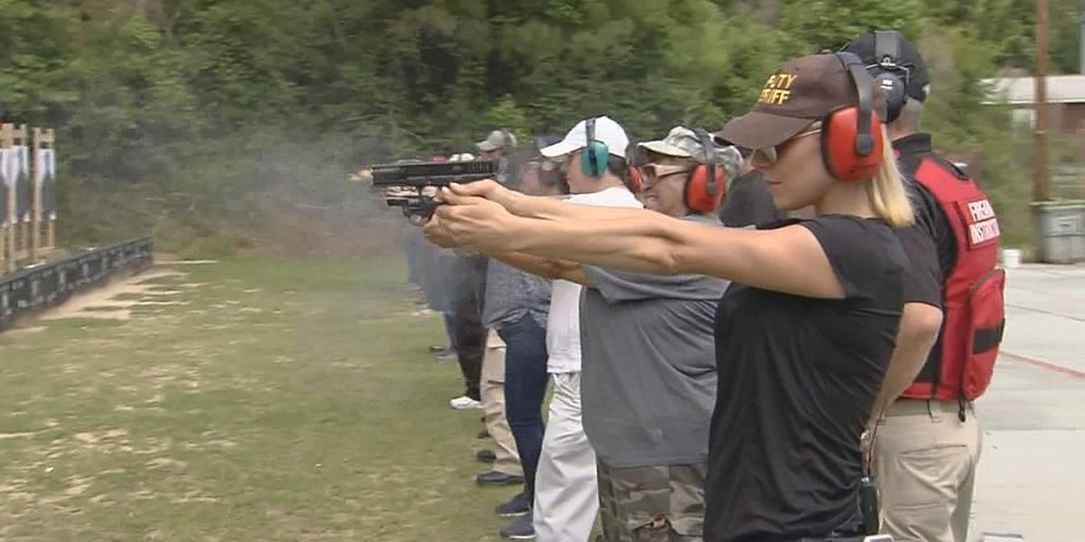 A first timer on the firing line: Sam Bleiweis goes through CWP training with RCSD