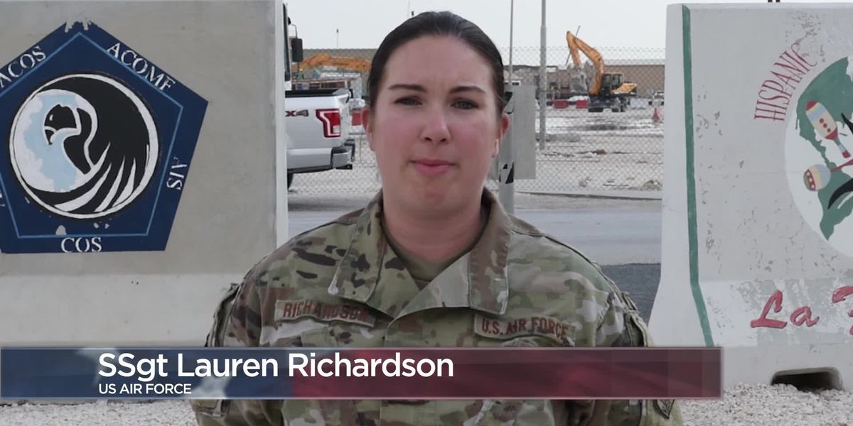 Military Greetings - Staff Sgt. Lauren Richardson