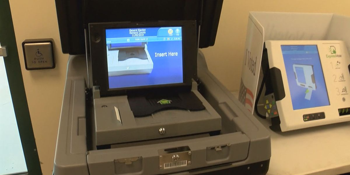 South Carolina's new voting system will make its statewide debut Saturday