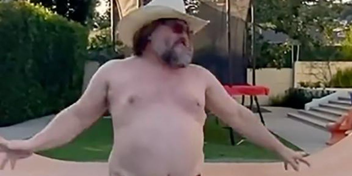 You can't unsee Jack Black's TikTok video, but why would you want to?
