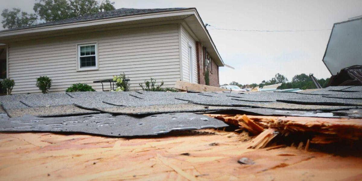 Newberry Co. man says he fled funnel cloud that tore the roof from his home