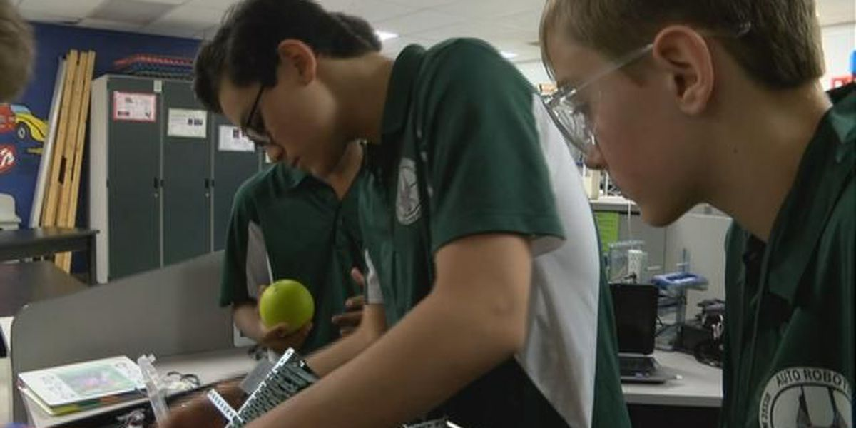 Dutch Fork middle schoolers take their skills to a world class competition