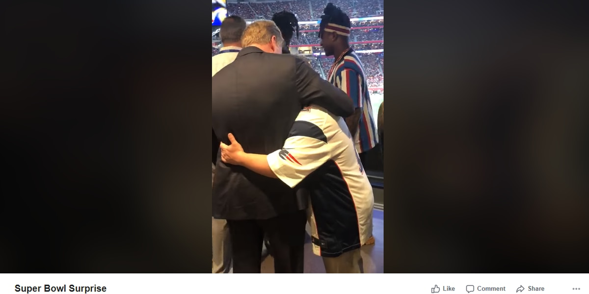 WATCH: Clemson football equipment manager greeted by NFL commissioner at Super Bowl LIII after ticket surprise