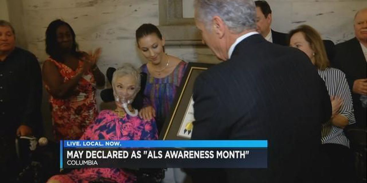 SC gov. declares May ALS Awareness month