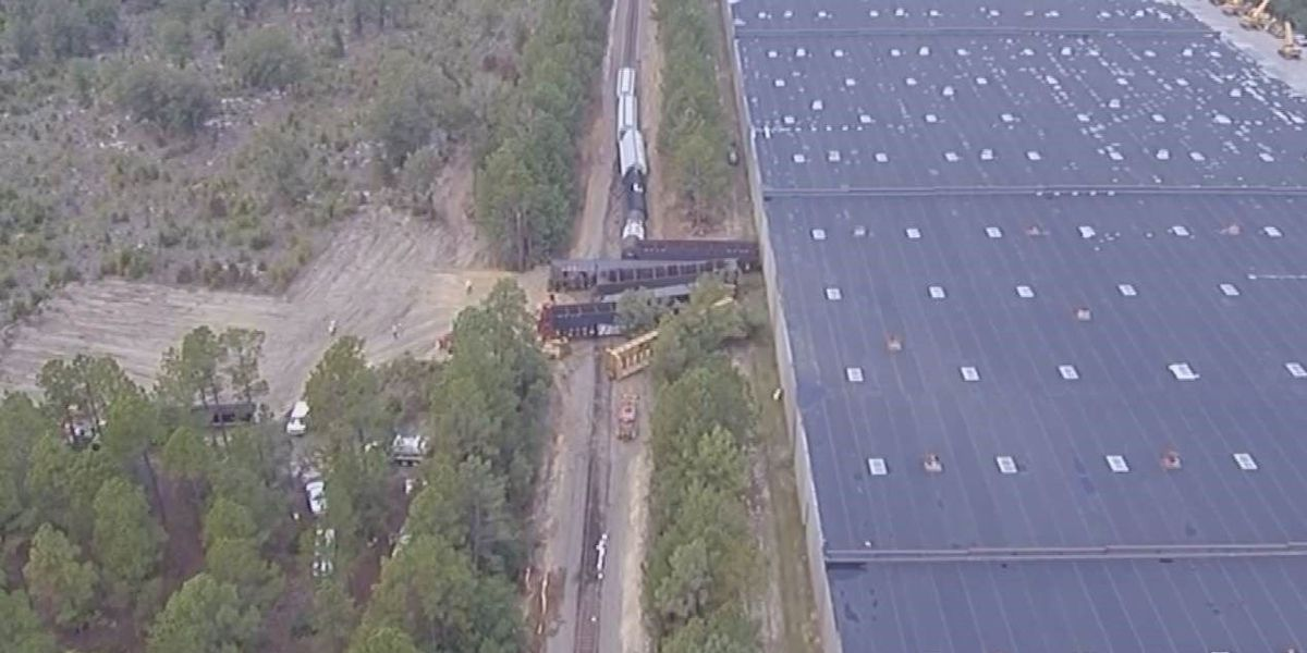 CSX offering reward for information about Lugoff train derailment