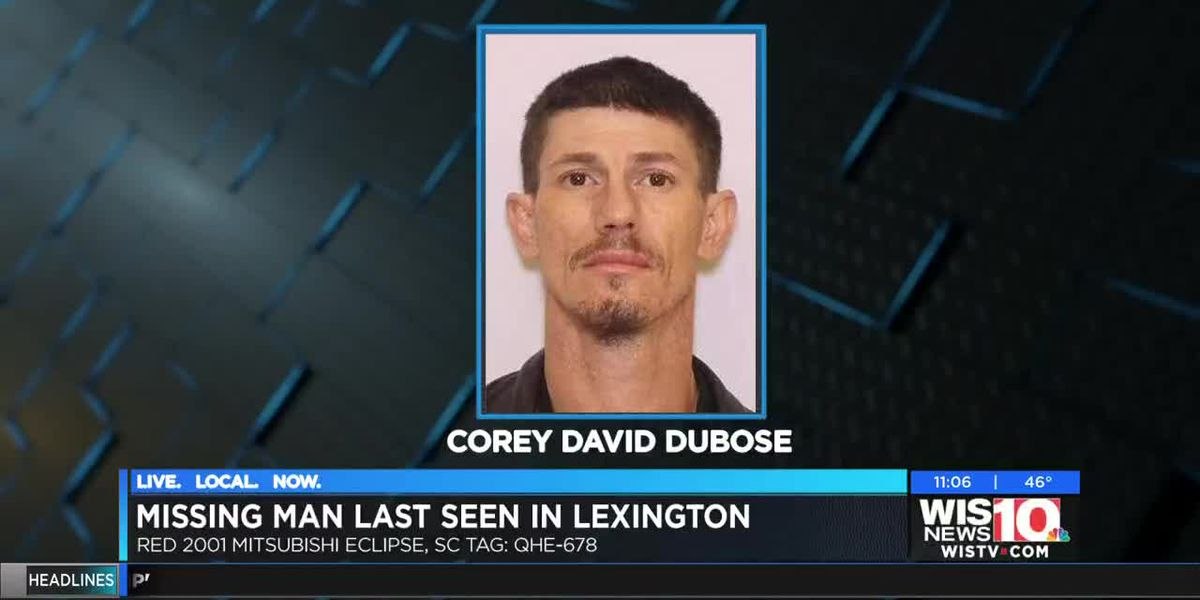 Lexington Police searching for missing man