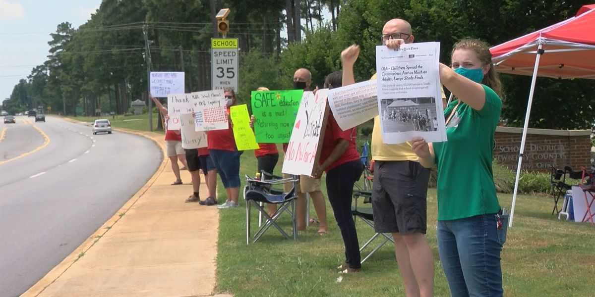 Newberry Co. announces school reopening plans, some teachers push for virtual start