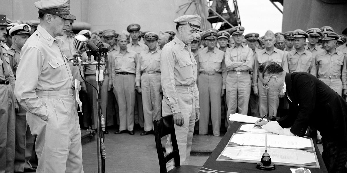 WWII: 75th Anniversary of Victory over Japan Day