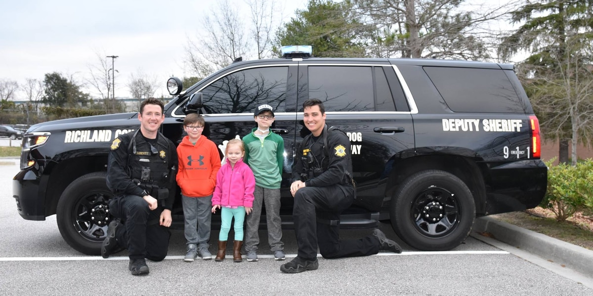Child who battled brain tumor celebrates birthday with visit to RCSD K-9 team, fun with Jeep enthusiasts