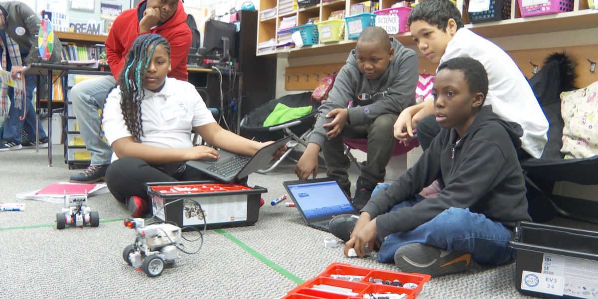 Richland County elementary school students show off skills during Lego robotics celebration