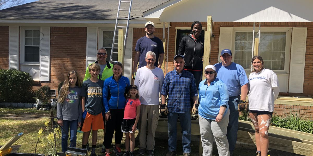 Home Works of America holds 'March Madness' workday to repair six Midlands homes
