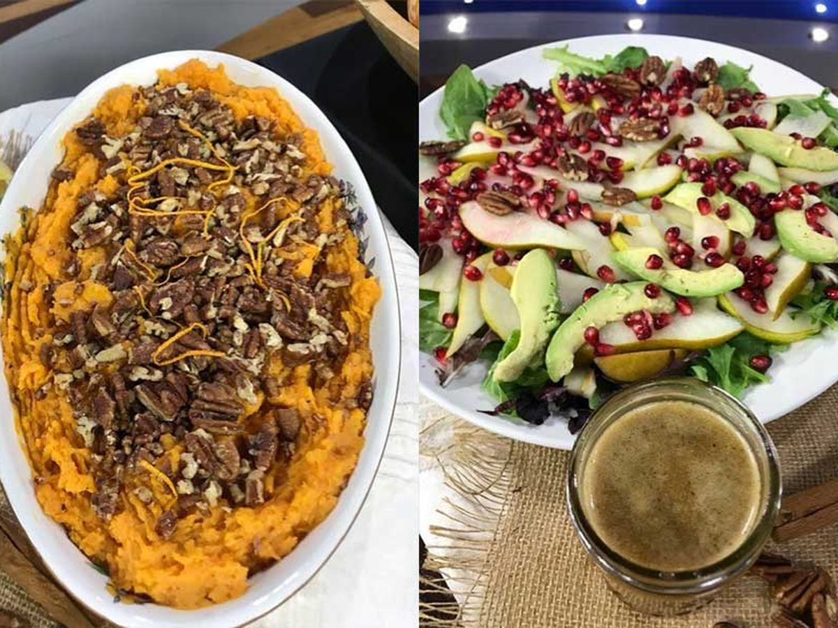 Talk of the Town: Thanksgiving side dishes can actually be healthy
