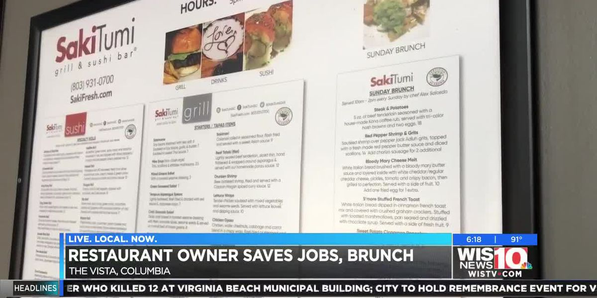 'I'll be here every Sunday': Midlands restaurant owner saves brunch and jobs