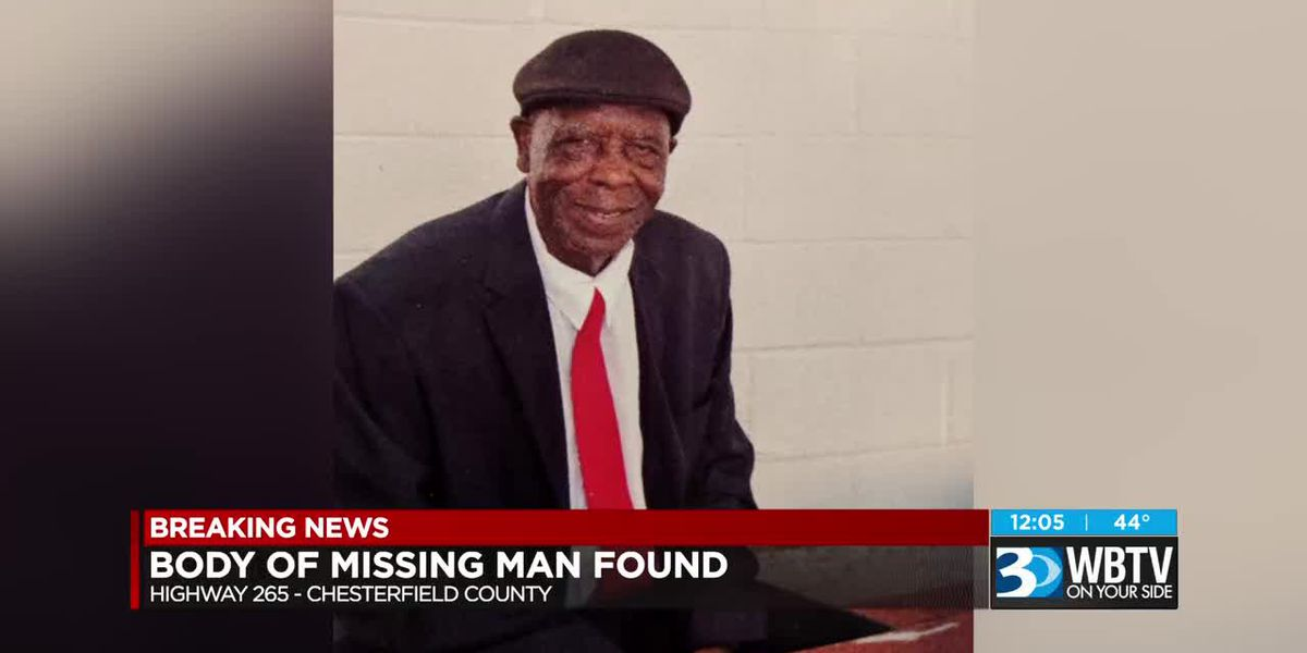 Body of missing 85-year-old man with Alzheimer's found off SC highway