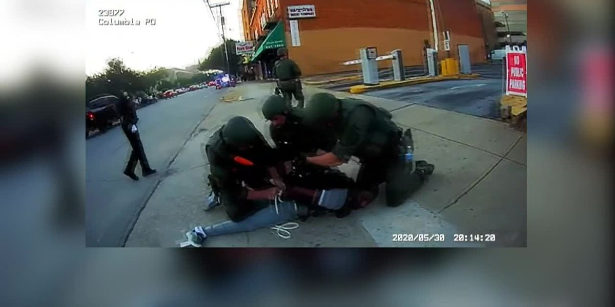 Mayor releases CPD body camera footage of arrest when officer may have put knee on neck of protester