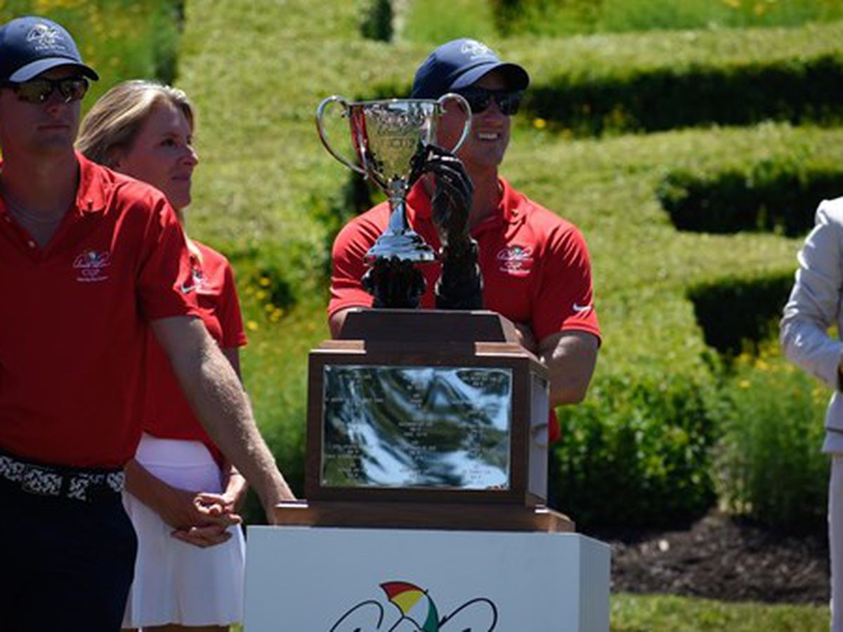 Hall Helps Team USA Win Palmer Cup in Sunday Singles