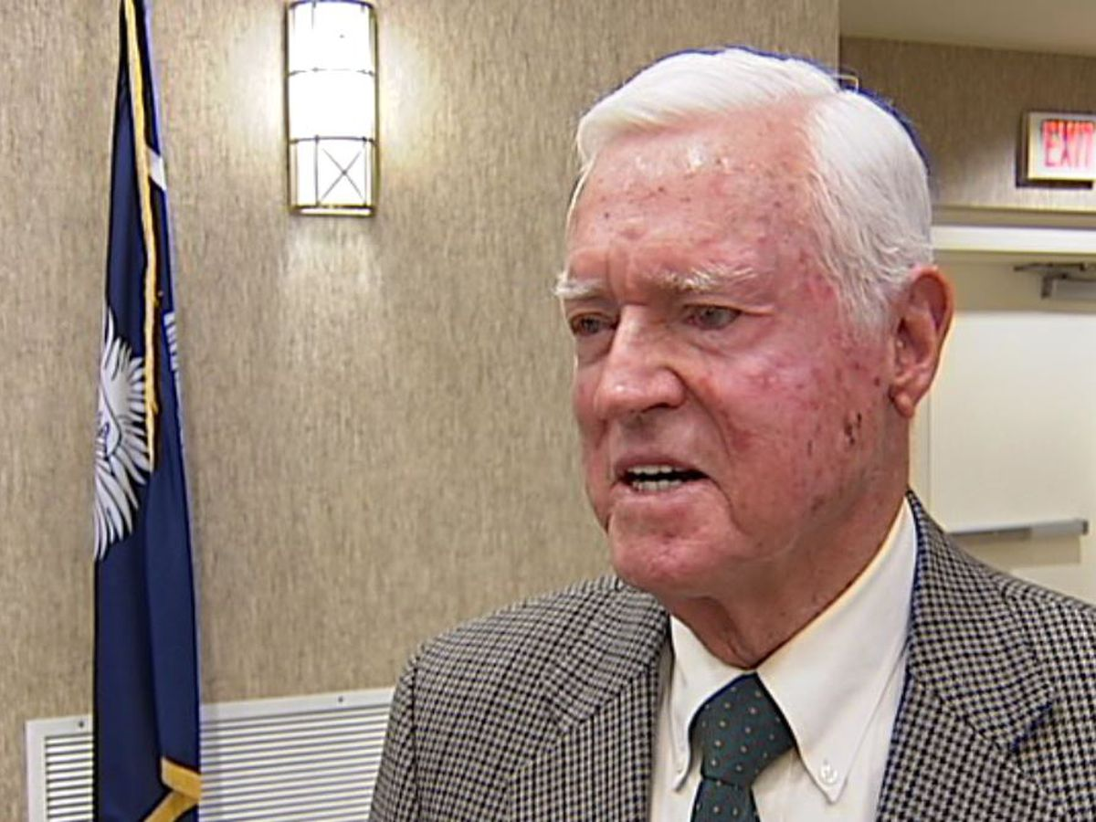 WATCH: Funeral services for the late former SC governor, US Senator Ernest 'Fritz' Hollings