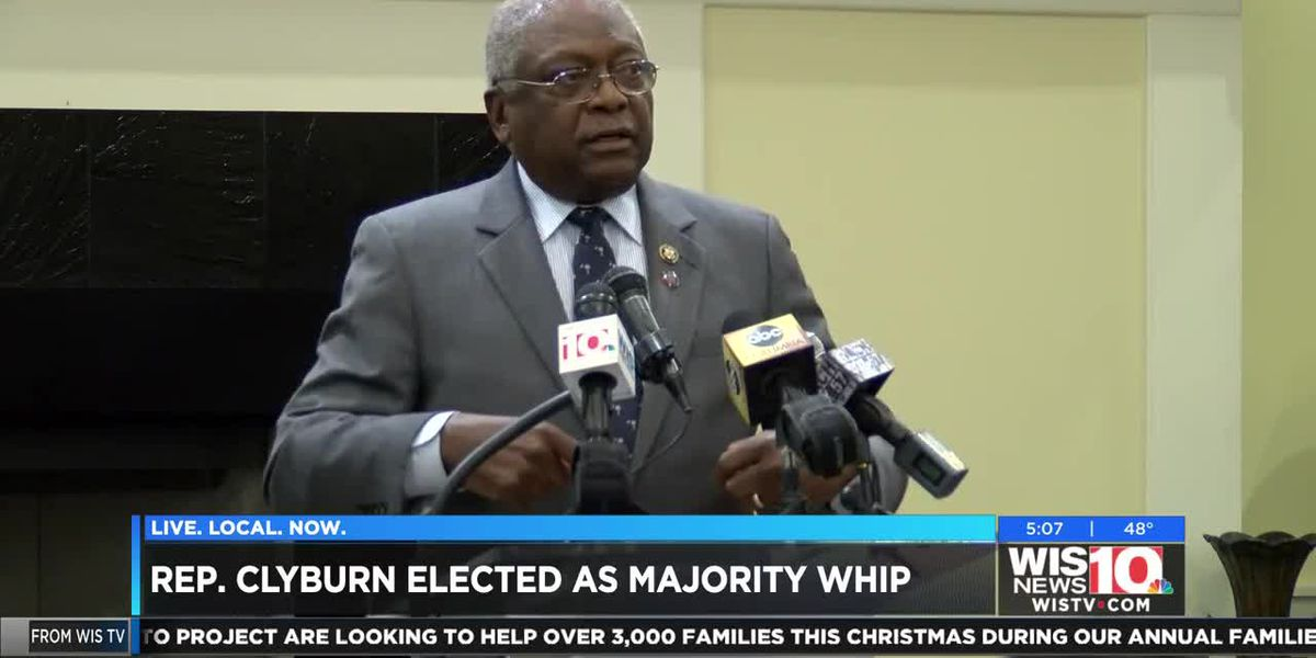 Clyburn elected as Majority Whip for U.S. House Democrats