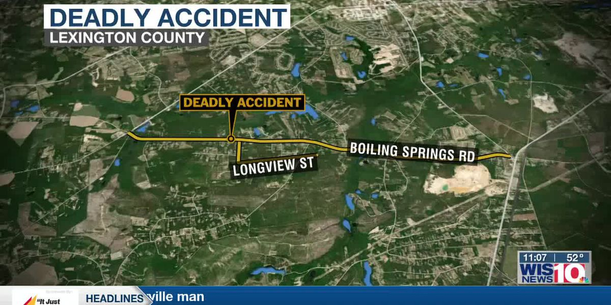 SCHP: Motorcyclist killed in collision in Lexington County