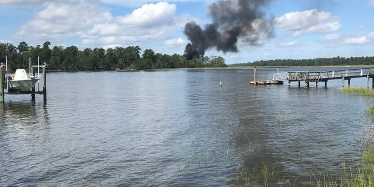 Fighter pilot ejects safely from F-35 plane crash in Beaufort County, SC