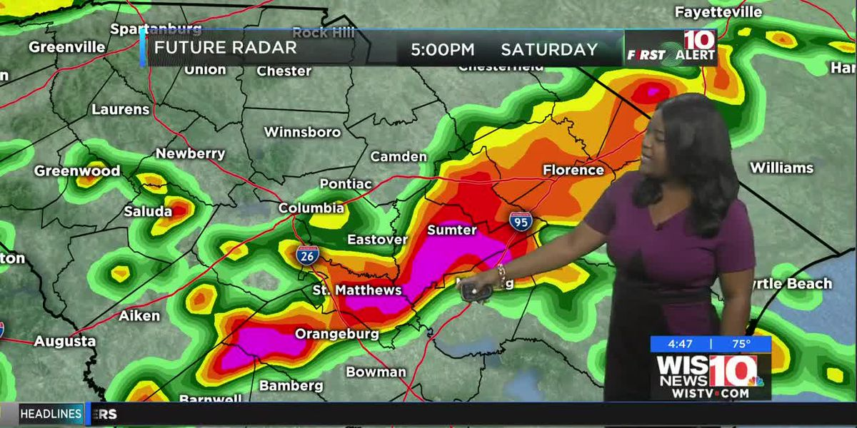 FIRST ALERT: Storms and a Cold Front will Lead to Cooler Temperatures