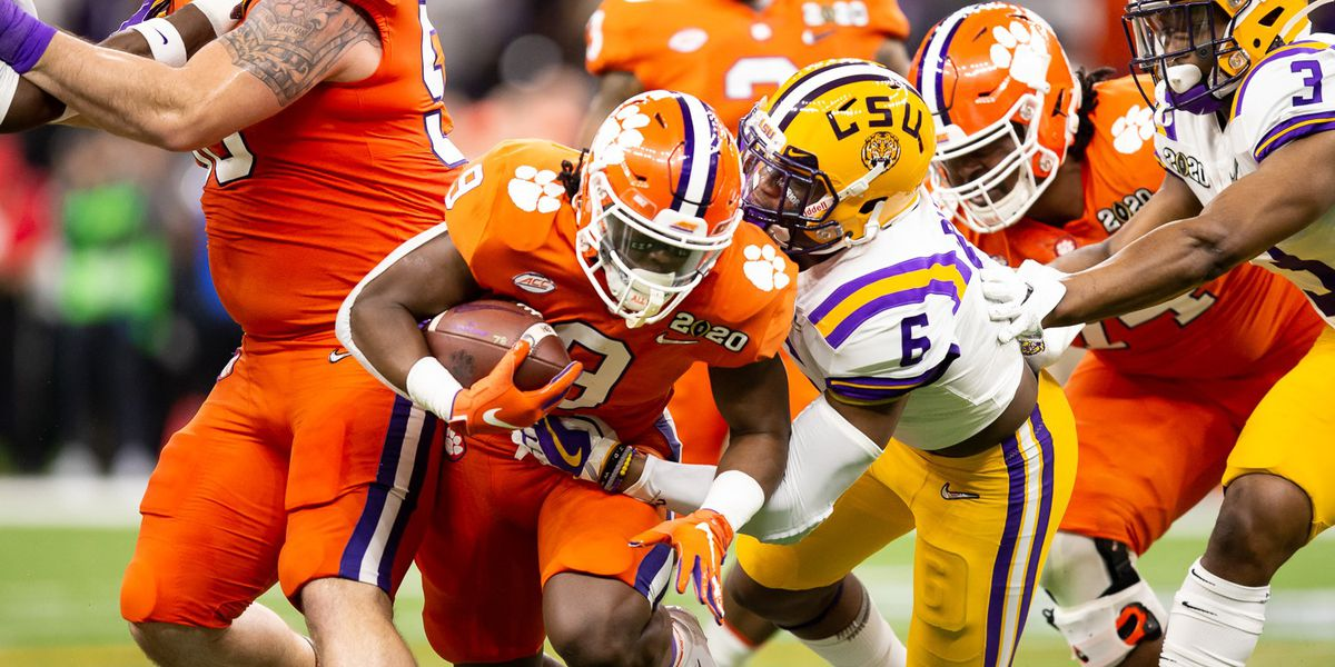 Clemson RB Etienne 'not done dreaming' at Clemson, will return for senior season